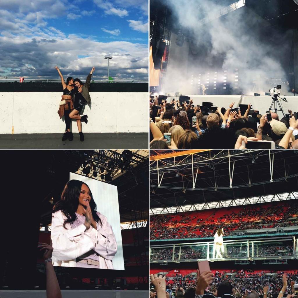 Rihanna Anti World Concert London